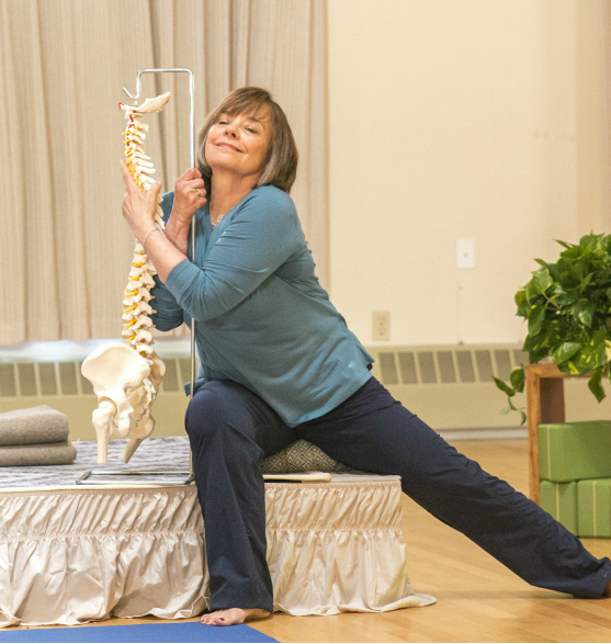 Judith Hanson Lasater teaches Anatomy & Kinesiology training at Yoga Tree Potrero in San Francisco