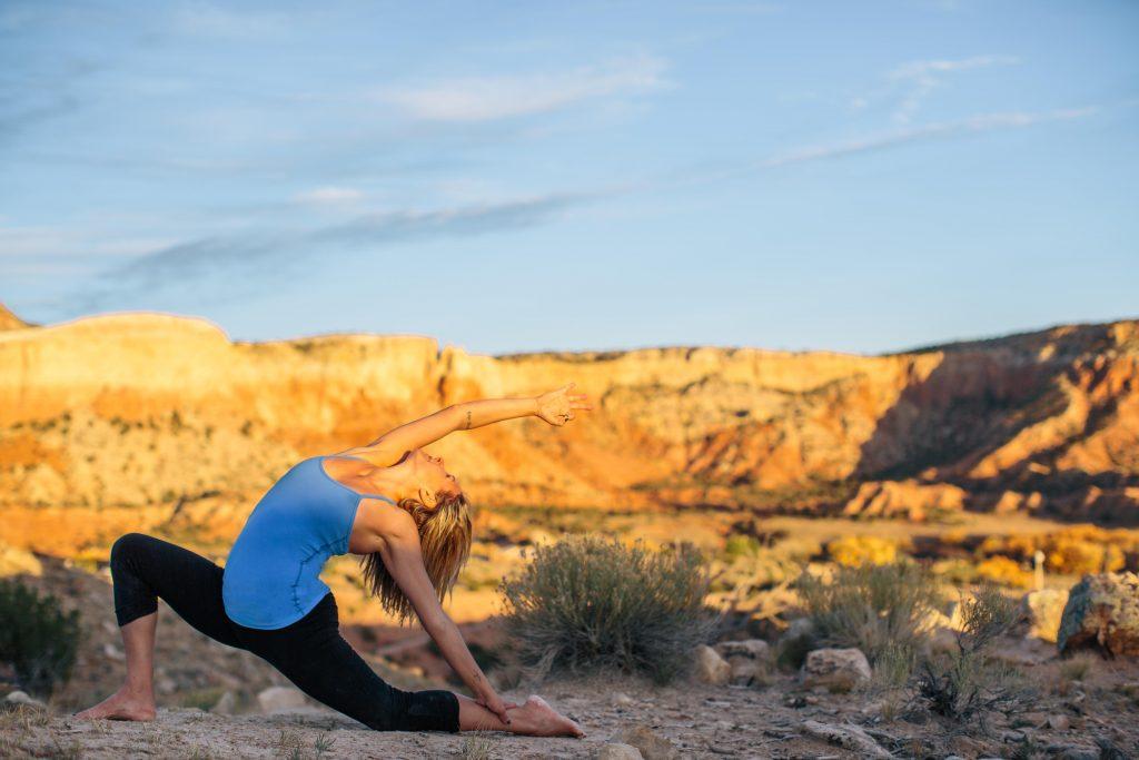 Mira Valeria leads Yoga Essentials for Vinyasa Flow over four Saturdays in August at Yoga Tree Hayes